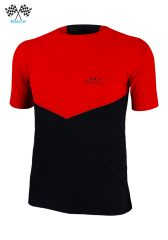 Camiseta De Manga Corta Uglow Speed Aero TSA3 Rojo/Negro