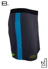 Short 6 running| trailrunning para hombre Uglow Base S1 Gris/Azul