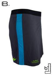Short 6 running| trailrunning para hombre Uglow Base S1 Gris/Azul