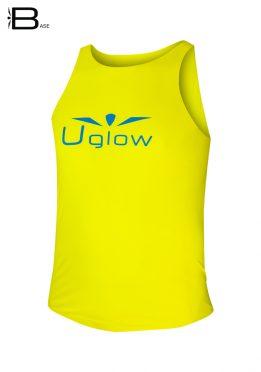 Camiseta Uglow Base de tirantes para hombre, TT4- amarillo