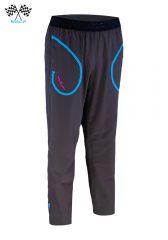 Pantalón de chándal mujer gris / azul
