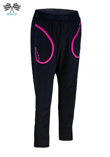 Pantalón Chándal para Mujer Uglow RP2 Negro/Rosa