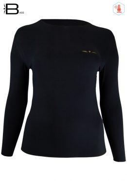 Camiseta manga Larga Mujer Uglow TLS4 Negro/Oro