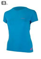Camiseta mujer manga corta para correr Uglow Base