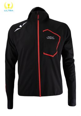 Impermeable 25/35 Hombre Ultra Rain Jacket RJ3 Negro/Rojo