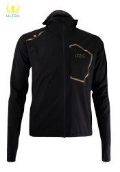 Impermeable 25/35 Hombre Ultra Rain Jacket Negro/Oro