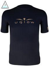 Camiseta de Hombre Uglow Manga corta Embajador 2020 Negra/Oro