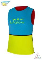 Camiseta running tricolor hombre