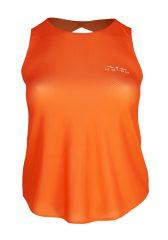 Camiseta de tirantes running para mujer, Uglow Speed Aero, naranja