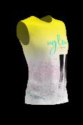 Camiseta running mujer sin mangas Edición Limitada, Uglow, varios colores