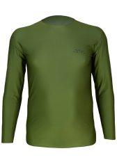 Camiseta manga Larga Hombre Uglow Verde/Kaki
