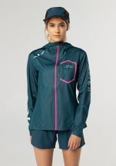 Chaqueta Impermeable 10k Mujer Uglow 3.1| C1 1/21 Teal