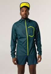 Chaqueta Impermeable 10K Hombre Uglow 3.1 C1 1/21 Teal