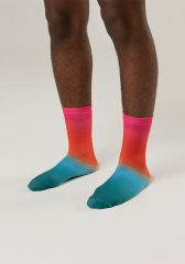 Calcetines con grip uglow C1 5/21 Irradiant pink