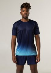 Camiseta running hombre Uglow super speed aero 85 gramos C1 3/21 OBSIDIAN