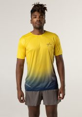 Camiseta running hombre Uglow super speed aero 85 gramos C1 2/21 SULFUR