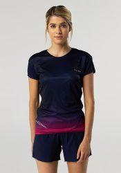 Camiseta running mujer Uglow super speed aero 85 gramos C1 3/21 Obsidian