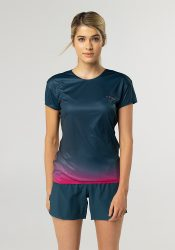 Camiseta running mujer Uglow super speed aero 85 gramos C1 1/21 TEAL