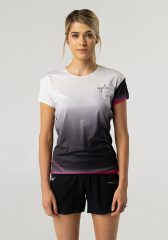 Camiseta running mujer Uglow super speed aero 85 gramos C1 4/21 Light grey