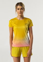 Camiseta running mujer Uglow super speed aero 85 gramos C1 2/21 Sulfur