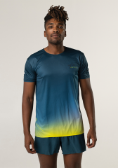 Camiseta running hombre Uglow super speed aero 85 gramos C1 1/21 TEAL