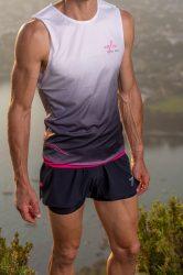 Camiseta running hombre Uglow super speed aero 85 gramos C2 6/21 Gradient Pink