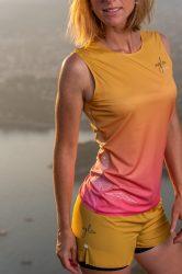 Camiseta running mujer Uglow super speed aero 85 gramos C2 2/21 Sulfur