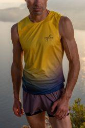 Camiseta running hombre Uglow super speed aero 85 gramos C2 2/21 Sulfur