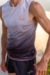 Camiseta running hombre Uglow super speed aero 85 gramos C2 4/21 Light grey